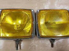 Front fog lamp square BOSCH Yellow glass, rear chrome, used very beautiful.