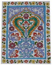 Fliesenbild Keramikfliesen Orient Handbemalt Wandfliesen Mediterran Mosaik 12 16