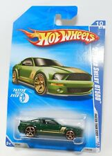HOT WHEELS 2010 FASTER THAN EVER '07 FORD SHELBY GT500 GREEN #138 FACTORY SEALED