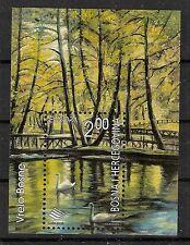 CEPT, Bosnien&Herzegowina, Europa 2001 Wasser, Mi Bl 12 postfrisch