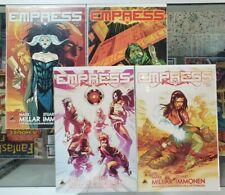 Empress #1 2 3 4 - Icon - Mark Millar World on Netflix! VF+/ NM @