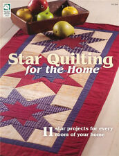 House of White Birches STAR QUILTING FOR THE HOME Pattern Book ~ NEW