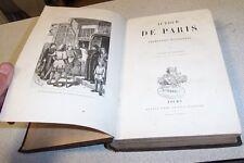 AUTOUR DE PARIS promenades historiques J LEVALLOIS 1884