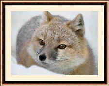 Swift Fox, New & Exclusive Cross Stitch Kit