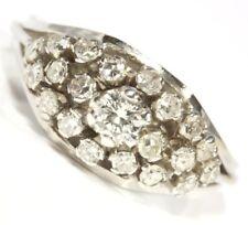 ♦ 585 14k 14kt Weißgold Goldring Brillantring Brilliant Brillant Gold Ring Damen