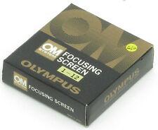 Olympus Om Pantalla 12 Cruz hairs-clear tipo de campo para Fotografía Macro
