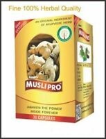 Musli Pro Capsule is Formulated from Musli/Widely Known as Indian Herbal product