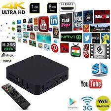 MAG S805 SET TOP TV BOX Multimedia player Android 4.4 Quad-Core WiFi 4K 1GB/8GYR