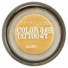 Maybelline Color Tattoo 24Hr Eye shadow Smooth Cream gel 75-24k gold new sealed