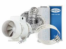 Lüftungs Set Grow Abluft Lüfter Ventilator Absauger NDL HPS MH ESL LED CMH CDM