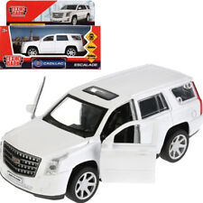 Cadillac Escalade White Russian Diecast Model Car Scale 1:36