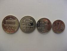 Uzbekistan Узбекистан 2018 set 4 coins UNC #G