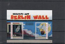 Gambia 2014 MNH Fall of Berlin Wall 25th Anniversary 2v S/S II Graffiti Art