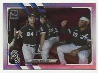 2021 Topps Series 1 CHICAGO WHITE SOX TEAM CARD Rainbow Foil Parallel #318