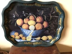 Ian Logan Serving Tray of a Painting By Sarah Hay