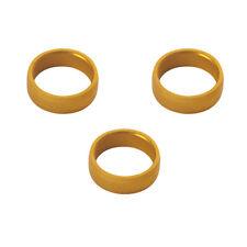 Anillos clips gold target darts slot lock ring plain badget - Manuelgil