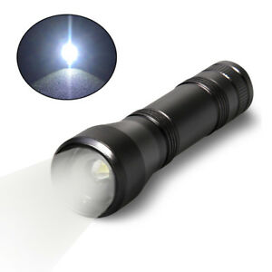 Promotion 1000LM Zoom T6 LED Flashlight Rechargeable 18650 5 Modes White Torch