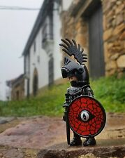 Playmobil Black Knights Figures Axes Castle Lot New Rare Accessories 1 Leader