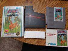 Ikari Warriors (Nintendo, NES) Complete in Box-- 5 Screw