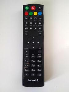 ZOOMTAK MEDIA BOX REMOTE CONTROL FOR K3 V+ U+ Upro T8+ & H8+ MODELS