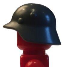 Army Helmet Stahlhelm for Lego minifigures accessories (grey)
