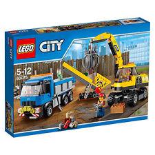 LEGO City Bagger und Transportwagen (60075) Neu OVP