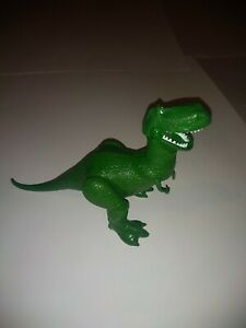 "Disney Pixar Mattel Toy Story 6 1/4"" T-Rex Dinosaur Figure Action Features"