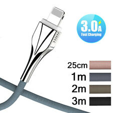 Strong Lightning USB Data Fast Charge Charger Cable For Apple iPhone iPad Lead