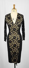 Lace 3/4 Sleeve Wiggle, Pencil Dresses for Women