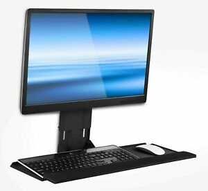 Mount-It! Monitor and Keyboard Wall Mount   Height Adjustable   25 Inch