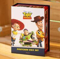 Toy story postcard box set 85 postcards 27 stamps,15 extra postcards(toy story4)