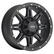 4-NEW Vision 400 Incline 18x9 5x150 +25mm Matte Black Wheels Rims