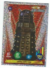 Doctor Who Alien Armies Glitter Chase Card G15 Dalek Panini Good Condition