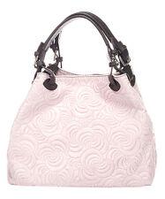 Massimo Castelli Rose Swirl Leather  Hobo  Bag  NWT