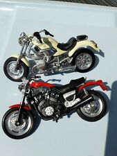 Maisto Modellini moto BMW R1200C Yamaha Vmax  Vintage
