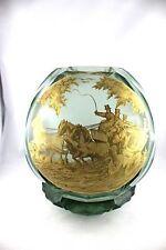MOSER Haida Harrach Rauchglas Vase J.M. POHL