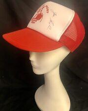 Vintage 1994 Cincinnati Reds Wally Post Open Baseball Hat Signed by Joe Nuxhall
