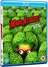 Mars Attacks! (1996) Jack Nicholson Glenn Close Blu-Ray Brand New Free Ship