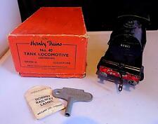 Vintage Tinplate Clockwork Hornby O Gauge Railway Type 40 Tank Locomotive VGiB