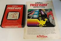 Atari 2600 Game - Freeway w/ Instructions Manual