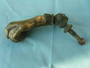 ancien heurtoir ou marteau de porte en bronze