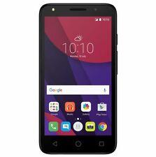 Teléfonos móviles libres negro Android Alcatel Pixi 4