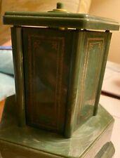 Swiss Harmony Roundelay Music Box Cigarette Carousel Vintage Art Deco