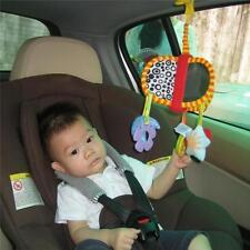 Baby Stroller Pram Car Seat Cot Activity hanging baby Toy Mirror Music Rattles G