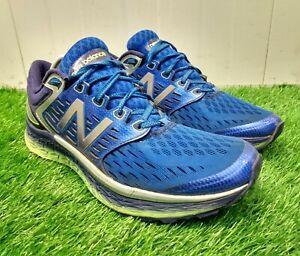 New Balance Men's Running Shoes Fresh Foam 1080 Size UK 11 Blue Sport Trainers
