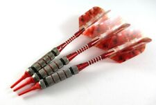 Vector 12 Gram Bomber Soft Tip Darts - Extra Flights Shafts Tips - Short Barrel
