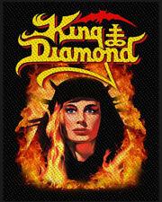 KING DIAMOND PATCH / AUFNÄHER # 2 FATAL PORTRAIT - 10x8cm