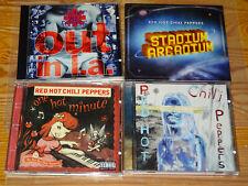 RED HOT CHILI PEPPERS - 4 VERSCHIEDENE ALBUM-CD'S: BY THE WAY, STADIUM ARCADIUM
