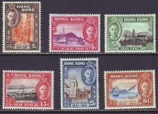 Hong Kong 1941 SC 168-173 MH Set Centenary