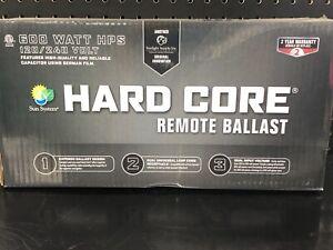 Sun System remote ballast Hard Core 600wt 120/240v 8' power cord